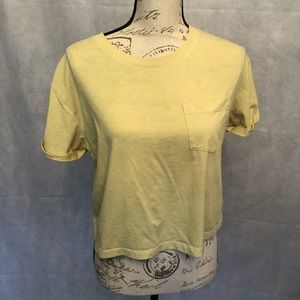 H&M Divided Yellow Top